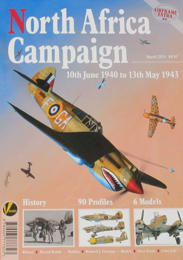 North Africa Campaign 10th June 1940 to 13th May 1943, Airframe Extra No.9